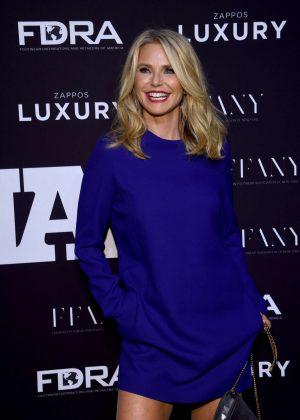 Christie Brinkley - 30th Footwear News Achievement Awards in NY