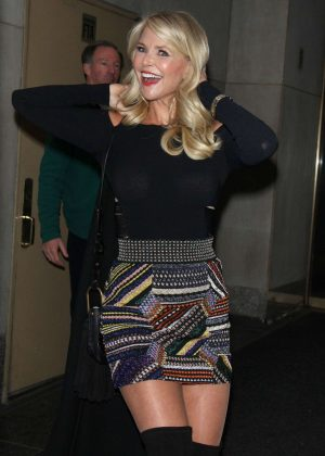 Christie Brinkley at 'Today Show' in New York City