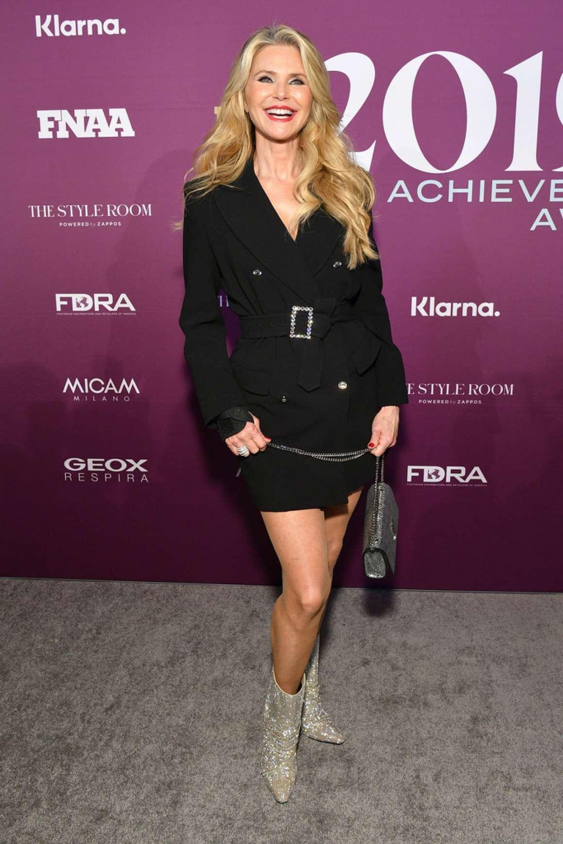 Christie Brinkley 2019 : Christie Brinkley – Footwear News Achievement Awards IAC-01