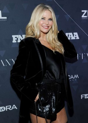 Christie Brinkley - Footwear News Achievement Awards in NYC