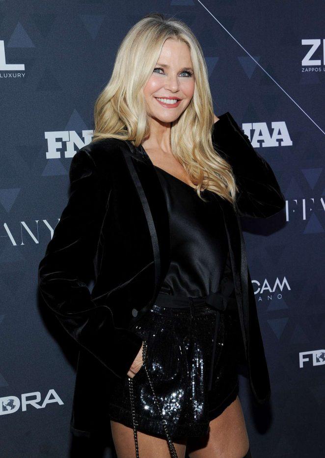 Christie Brinkley - Footwear News Achievement Awards in NYC