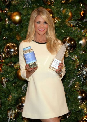 Christie Brinkley - 'Give A Smile, Get A Smile' Launch in NYC