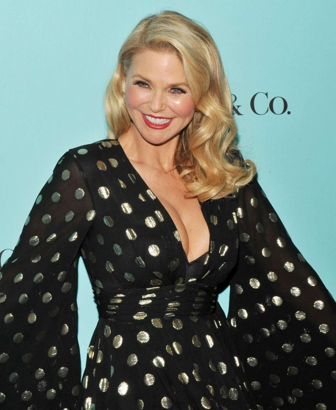 Christie Brinkley - Harper's Bazaar and Tiffany and Co Celebrate 150 Years in NYC