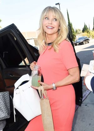Christie Brinkley - Leaves Erewhon Natural Foods Market in Los Angeles