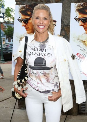 Christie Brinkley - 'Mission: Impossible - Rogue Nation' Screening in East Hampton