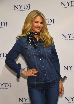 Christie Brinkley - NYDJ 2016 Fit To Be Campaign Launch in NYC
