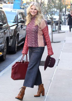 Christie Brinkley out and about in New York