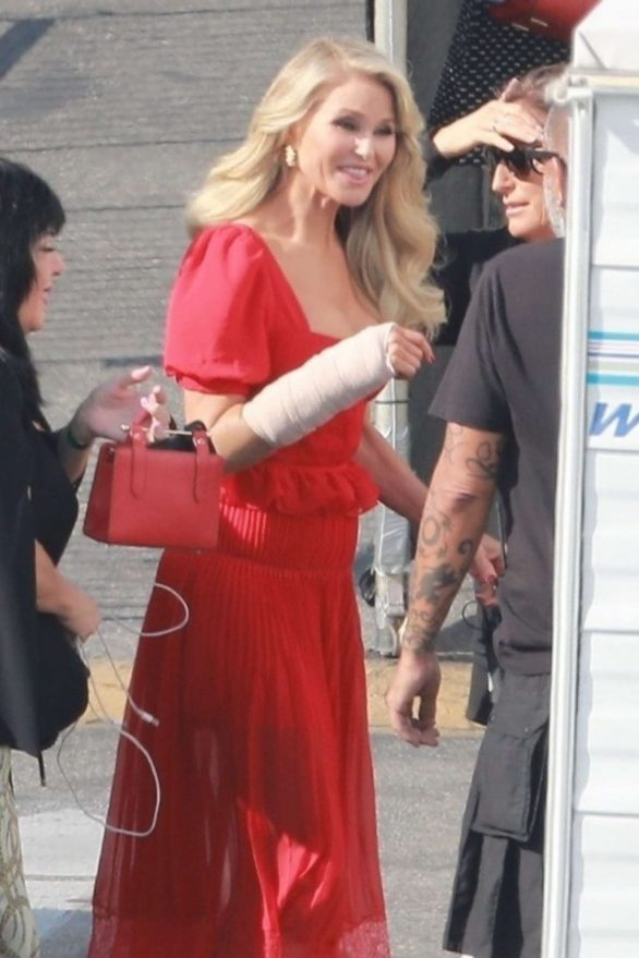 Christie Brinkley - Prepped for Dancing with the Stars Show in Los Angeles