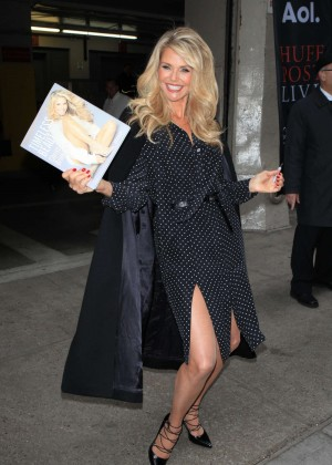 Christie Brinkley - Promoting Her Book in NYC