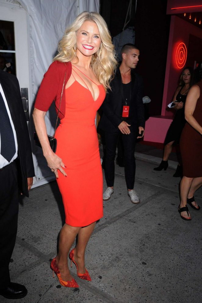 Christie Brinkley - Target IMG NYFW Kickoff Party in New York