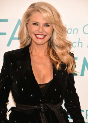 Christie Brinkley - The Ovarian Cancer Research Fund Alliance Event in NYC