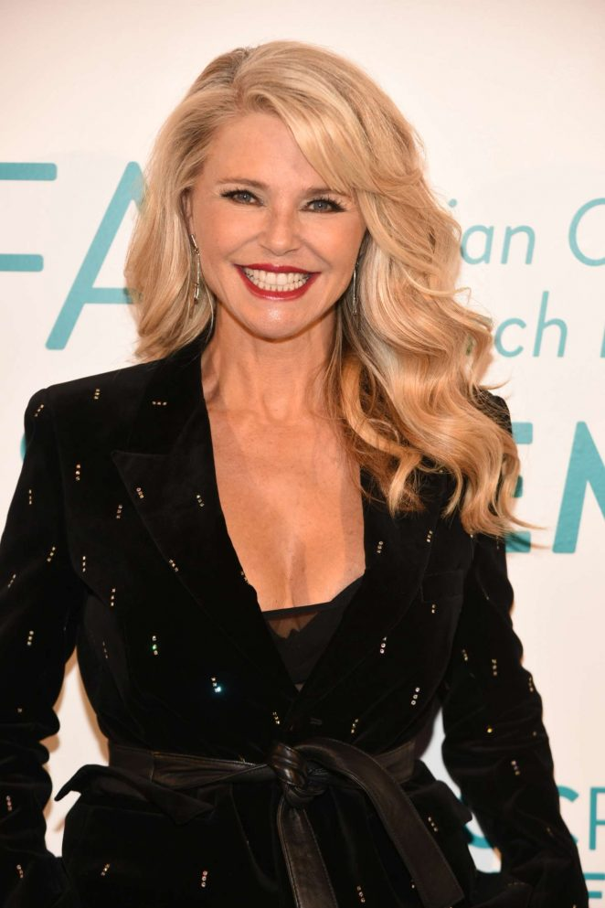 Christie Brinkley – The Ovarian Cancer Research Fund Alliance Event in NYC
