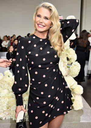Christie Brinkley - Zimmermann Fashion Show in NYC