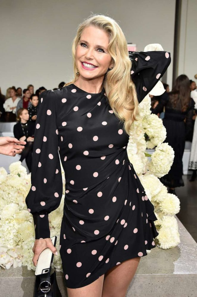 Christie Brinkley – Zimmermann Fashion Show in NYC
