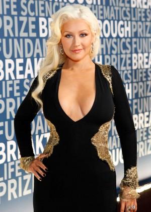 Christina Aguilera - 2016 Breakthrough Prize Ceremony in Mountain View