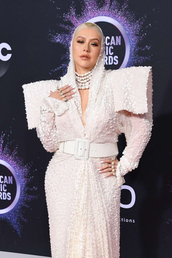 Christina Aguilera - 2019 American Music Awards in Los Angeles