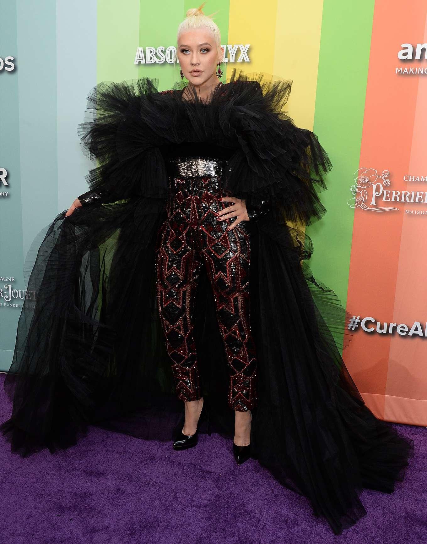 Christina Aguilera 2019 : Christina Aguilera – 2019 amfAR Gala-09