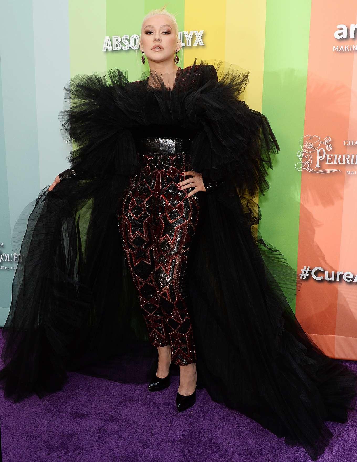 Christina Aguilera 2019 : Christina Aguilera – 2019 amfAR Gala-14