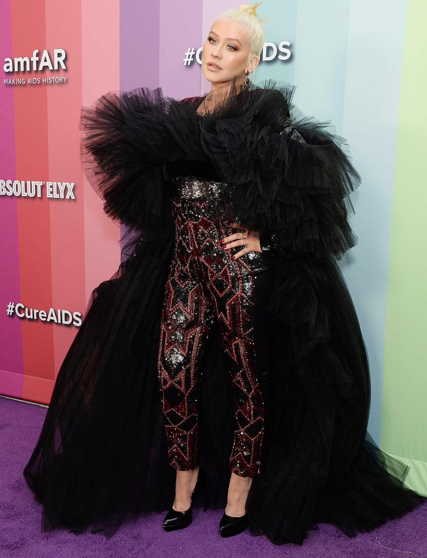 Christina Aguilera 2019 : Christina Aguilera – 2019 amfAR Gala-16