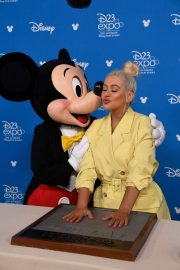 Christina Aguilera - 2019 D23 Disney event at Anaheim Convention Center