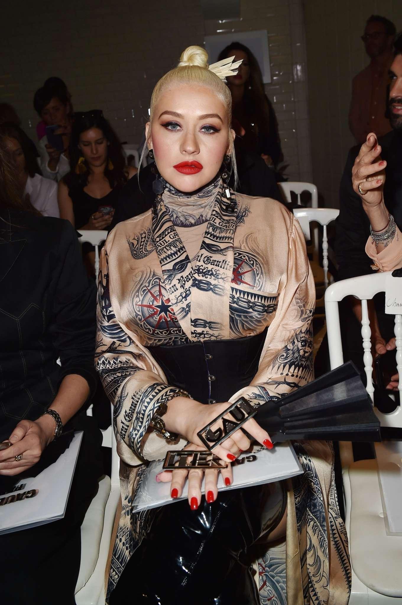Christina Aguilera 2019 : Christina Aguilera – 2019 Paris Fashion Week – Jean Paul Gaultier Haute Couture FW 2019-20-05