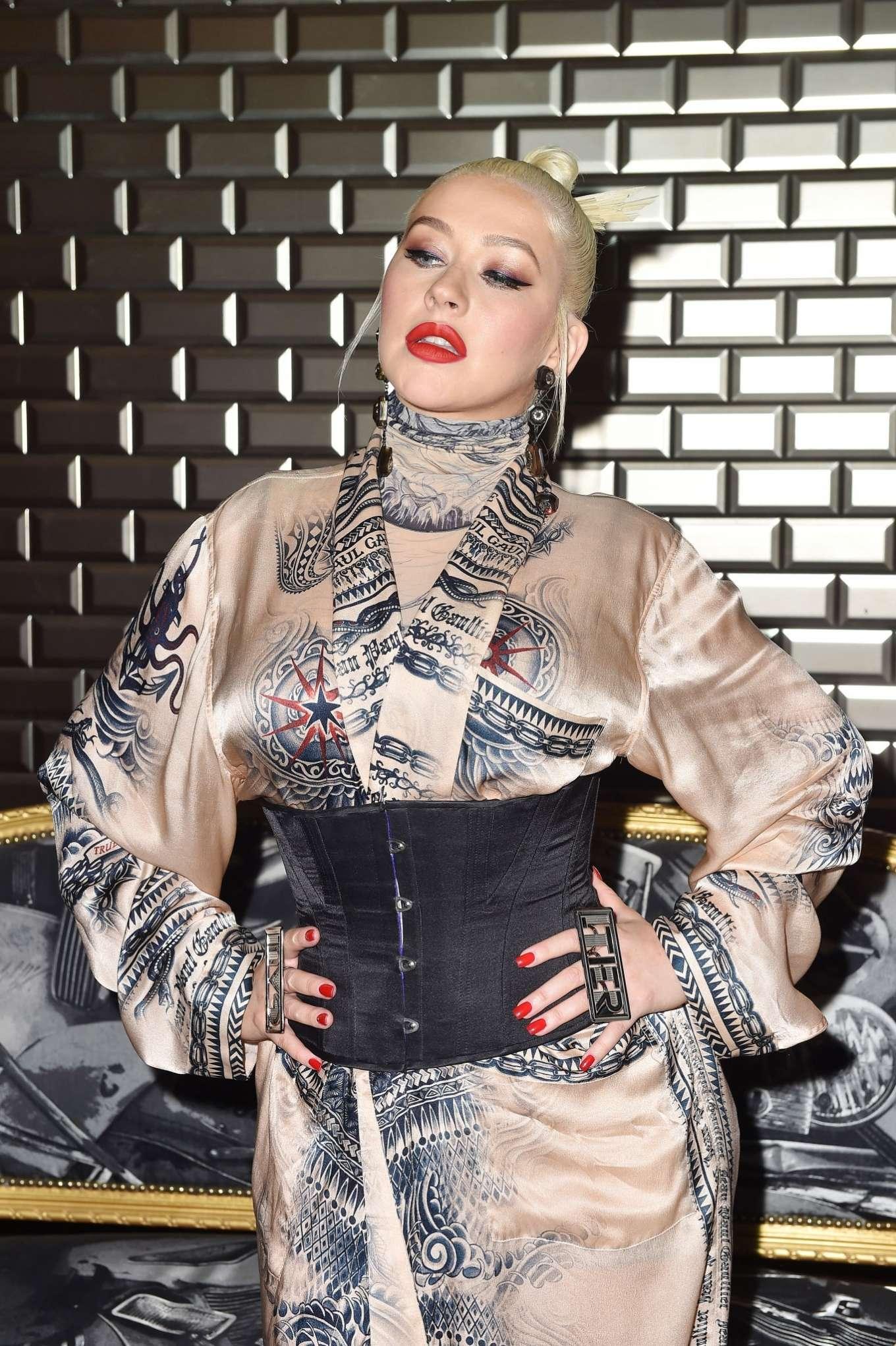 Christina Aguilera 2019 : Christina Aguilera – 2019 Paris Fashion Week – Jean Paul Gaultier Haute Couture FW 2019-20-13