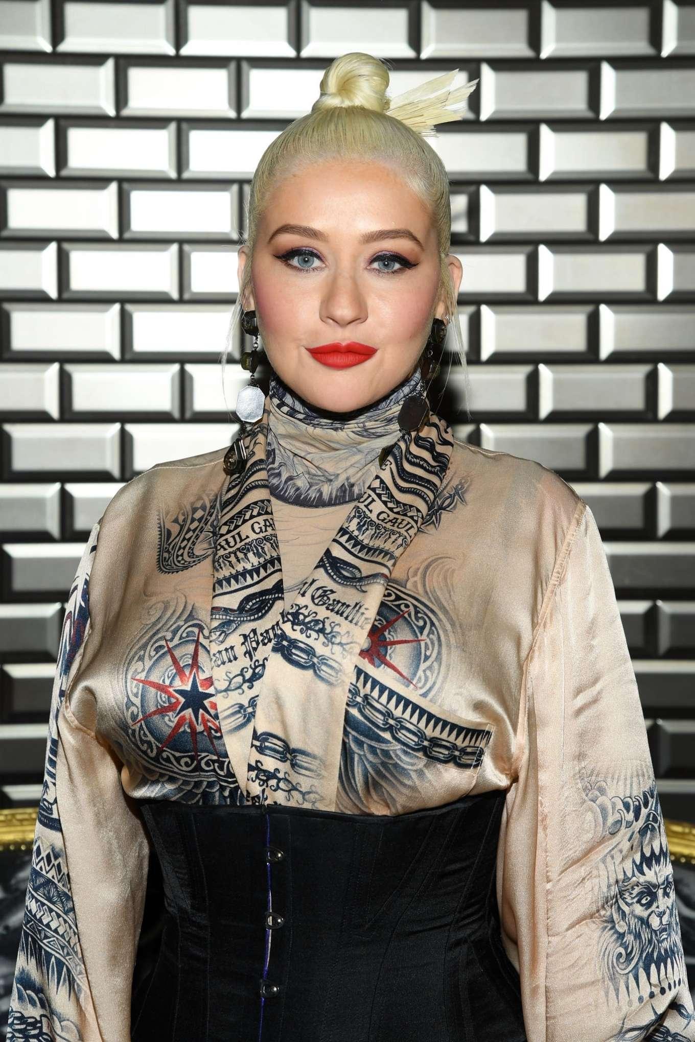 Christina Aguilera 2019 : Christina Aguilera – 2019 Paris Fashion Week – Jean Paul Gaultier Haute Couture FW 2019-20-17