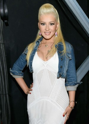 Christina Aguilera - 2015 Academy Of Country Music Awards in Arlington