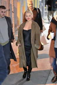 Christina Aguilera - Arriving on 'Jimmy Kimmel Live' in Hollywood
