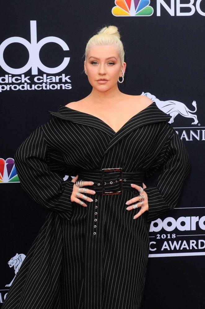Christina Aguilera - Billboard Music Awards 2018 in Las Vegas