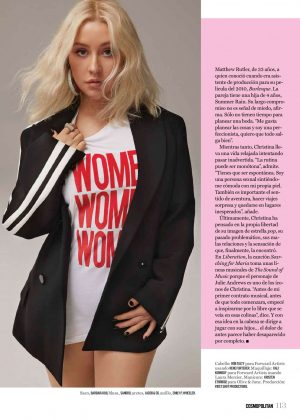 Christina Aguilera - Cosmopolitan Mexico Magazine (October 2018)
