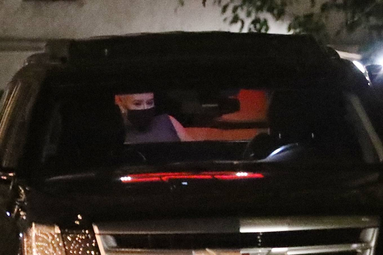 Christina Aguilera 2020 : Christina Aguilera – Dines at Ysabel restaurant in West Hollywood-03