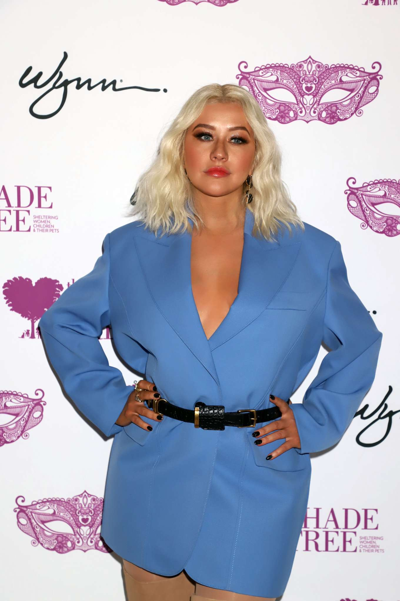 Christina Aguilera - Honored at 'Mask Off Gala' in Las Vegas