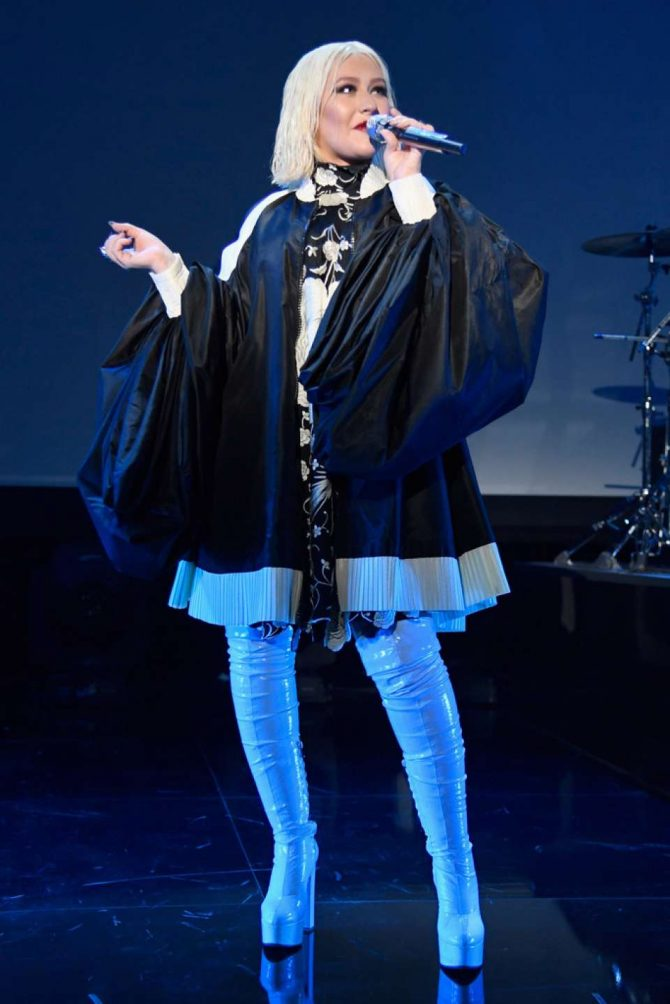 Christina Aguilera – iHeartRadio Celebrates Christina Aguiera: The Experience Las Vegas Launch