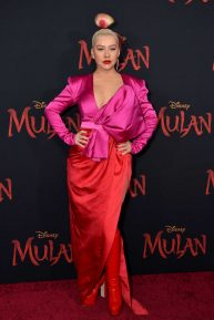 Christina Aguilera - 'Mulan' Premiere in Hollywood