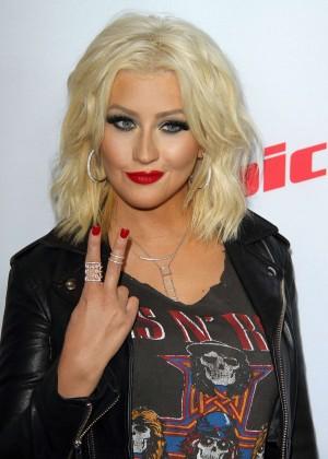 Christina Aguilera - NBC's The Voice Season & Red Carpet Event in Wes...  Christina Aguilera