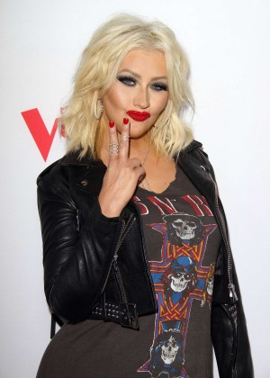 Christina Aguilera - NBC's The Voice Season & Red Carpet Event in West Hollywood