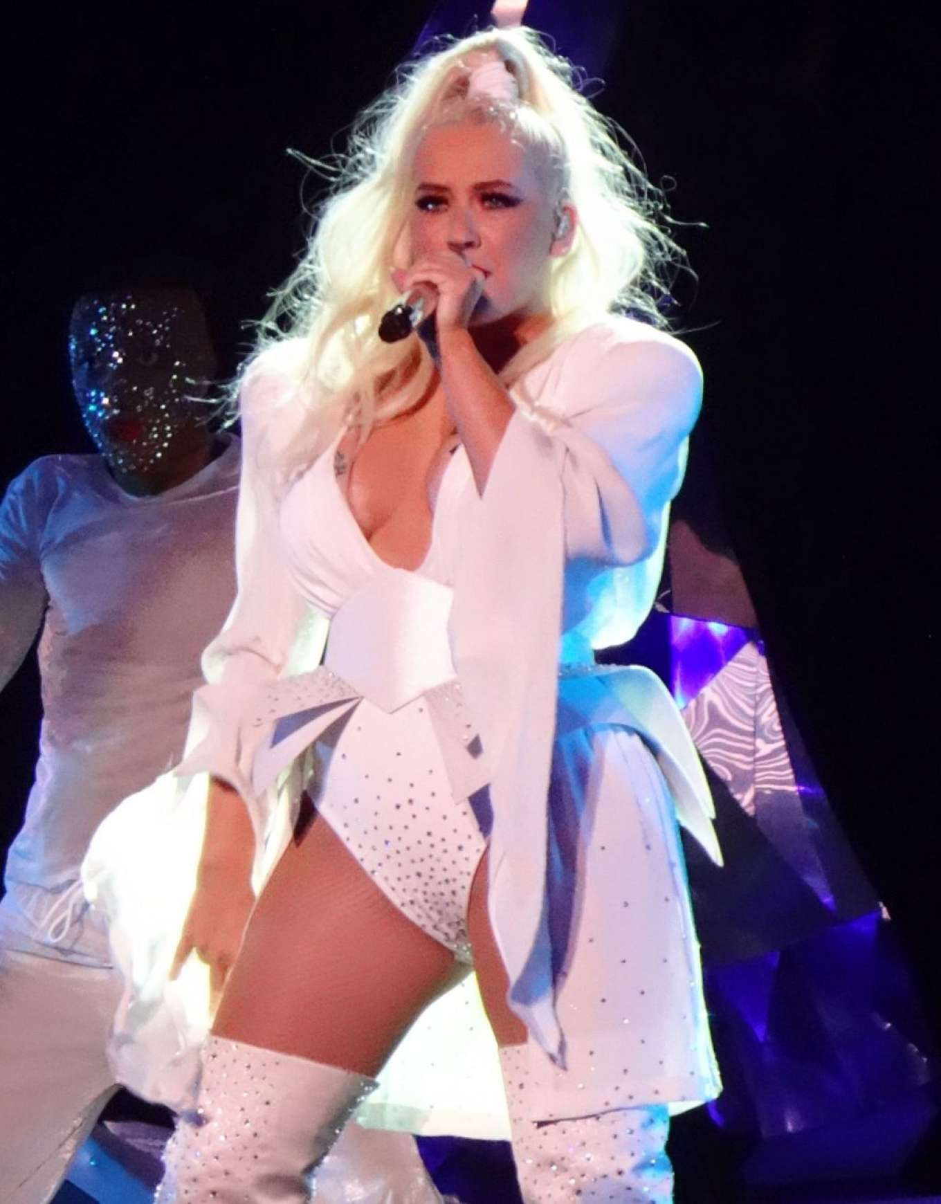 Christina Aguilera - New Year's Eve Performance at Zappos Theatre in Las Vegas