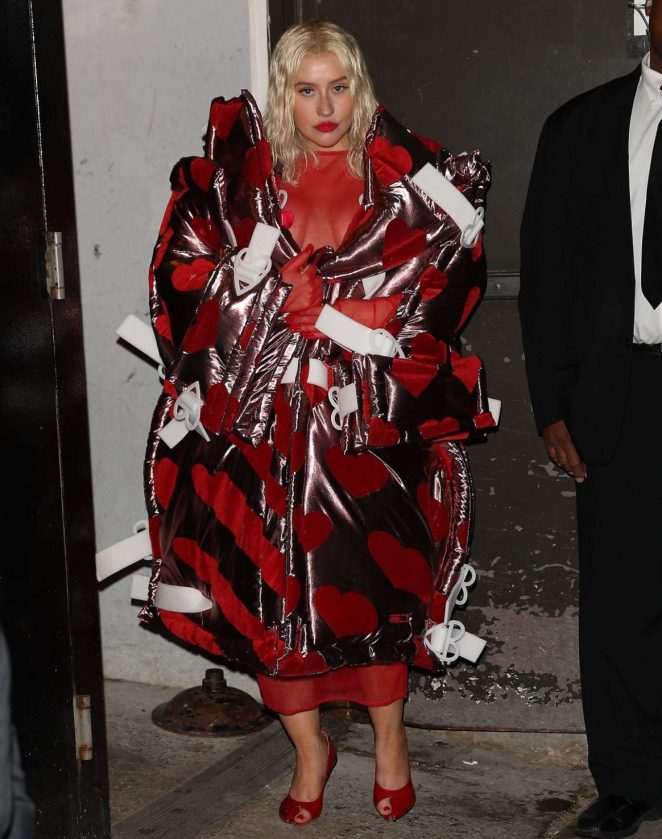 Christina Aguilera - Out in New York