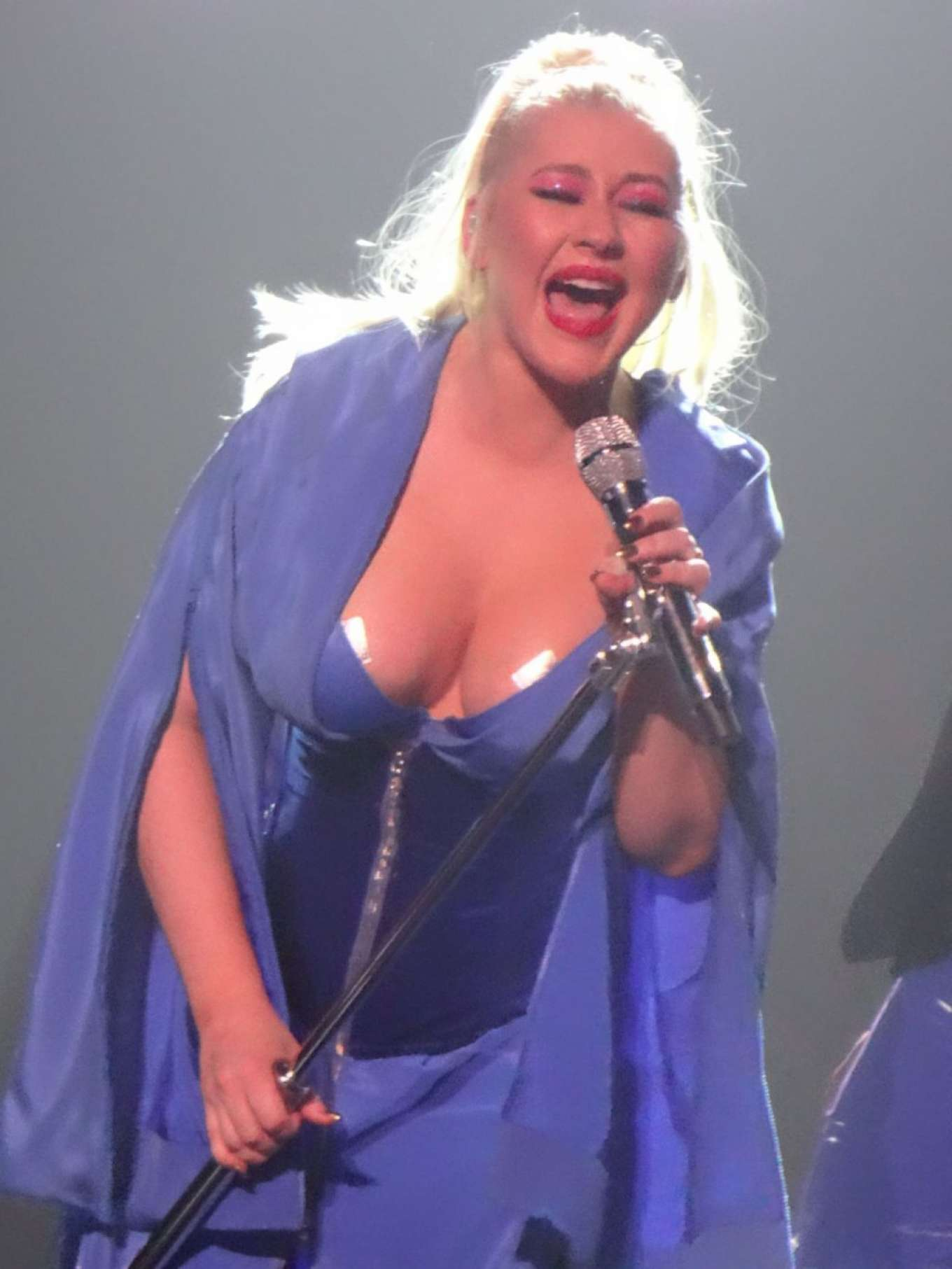 Christina Aguilera - Performs at The Zappos Theater in Las Vegas