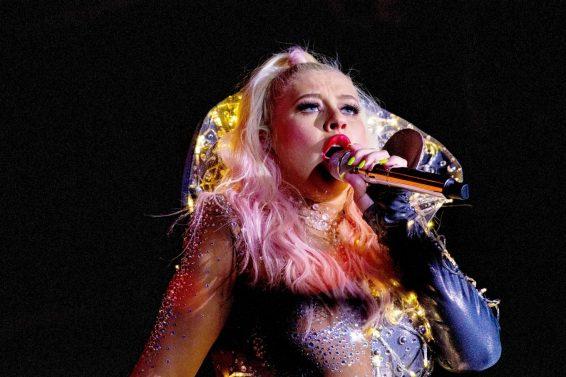 Christina Aguilera - Performs Live in Locarno