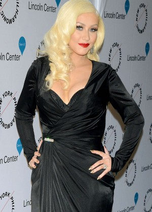 Christina Aguilera - Sinatra Voice for a Century Event in New York