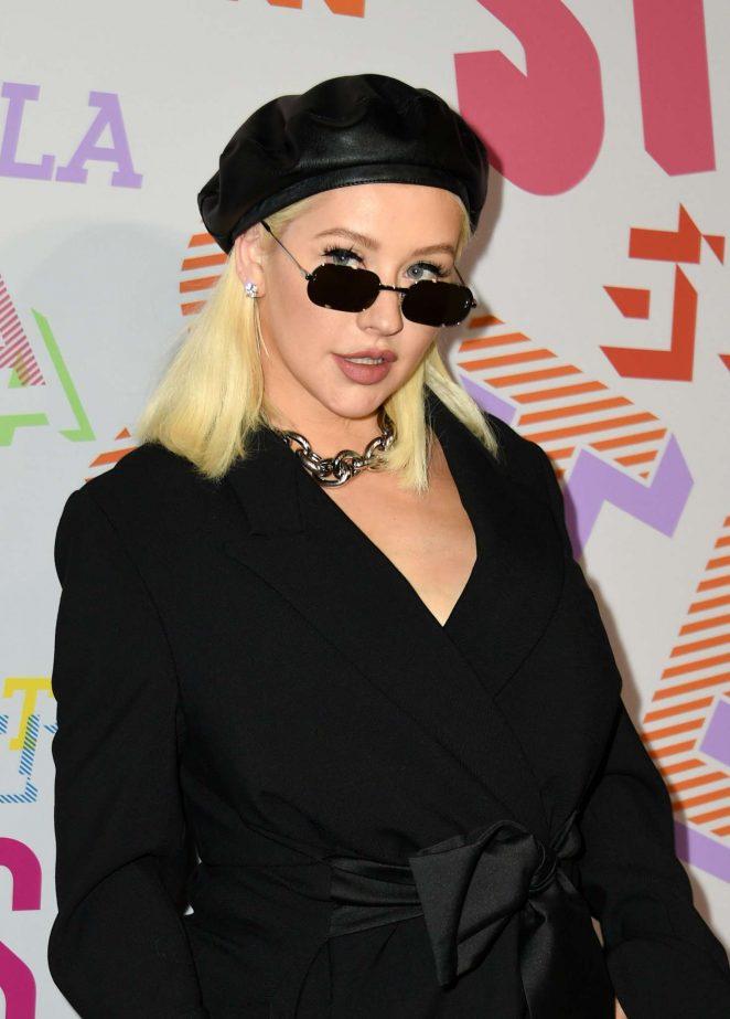 Christina Aguilera – Stella McCartney's Autumn 2018 Collection Launch in LA