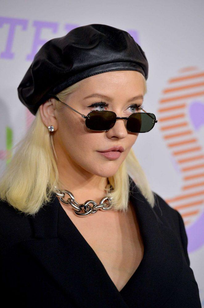 Christina Aguilera Stella Mccartneys Autumn 2018