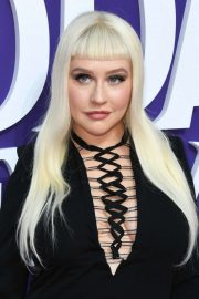 Christina Aguilera - The Addams Family premiere in Los Angeles