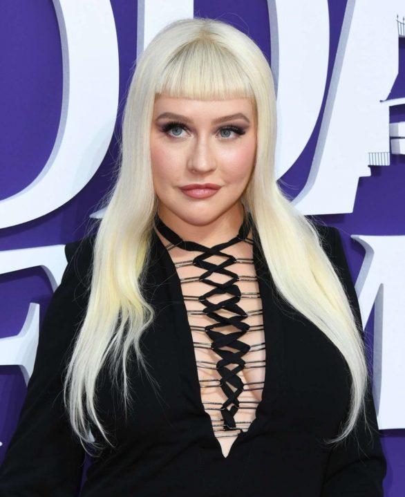 Christina Aguilera - The Addams Family premiere in Los Angeles