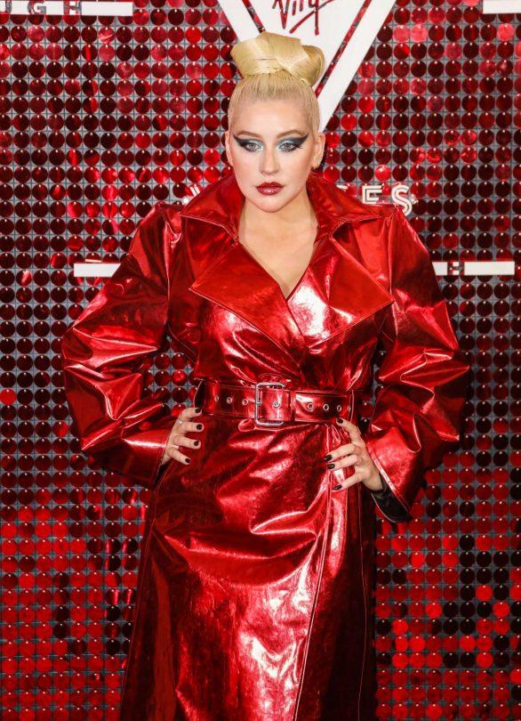 Christina Aguilera - Virgin Voyages x Gareth Pugh Event in London