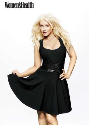 Christina Aguilera - Womens Health Magazine (March 2016)