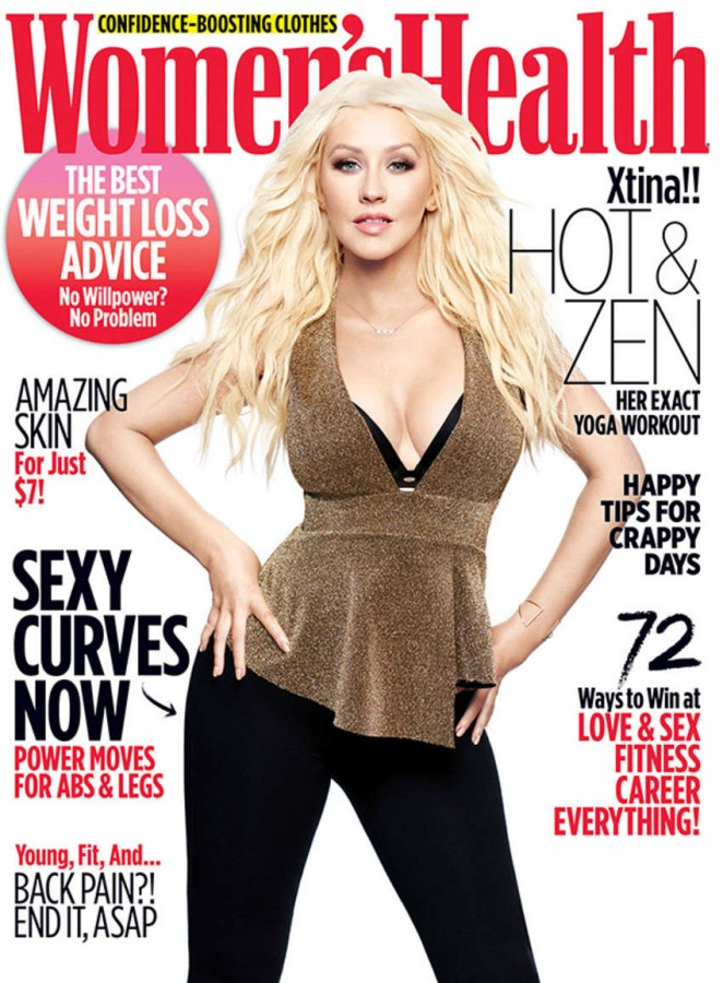 Christina Aguilera: Womens Health 2016 -05