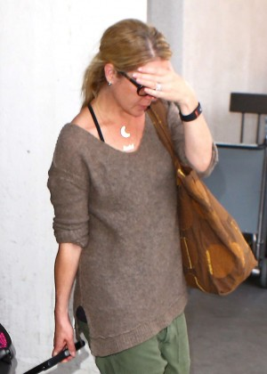 Christina Applegate at LAX Airport in Los Angeles